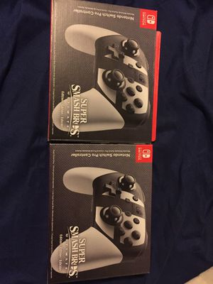 Super Smash Bros. Ultimate Pro Controller for Sale in Silver Spring, MD
