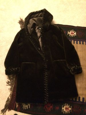 Women's Marvin Richards Faux Fur Size XL Dark Brown for Sale in Herndon, VA
