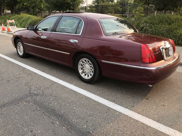 1998 Lincoln Town Car Cartier Edition For In Sacramento Ca Offerup