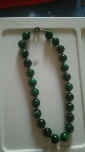 Green necklace for Sale in Frederick, MD