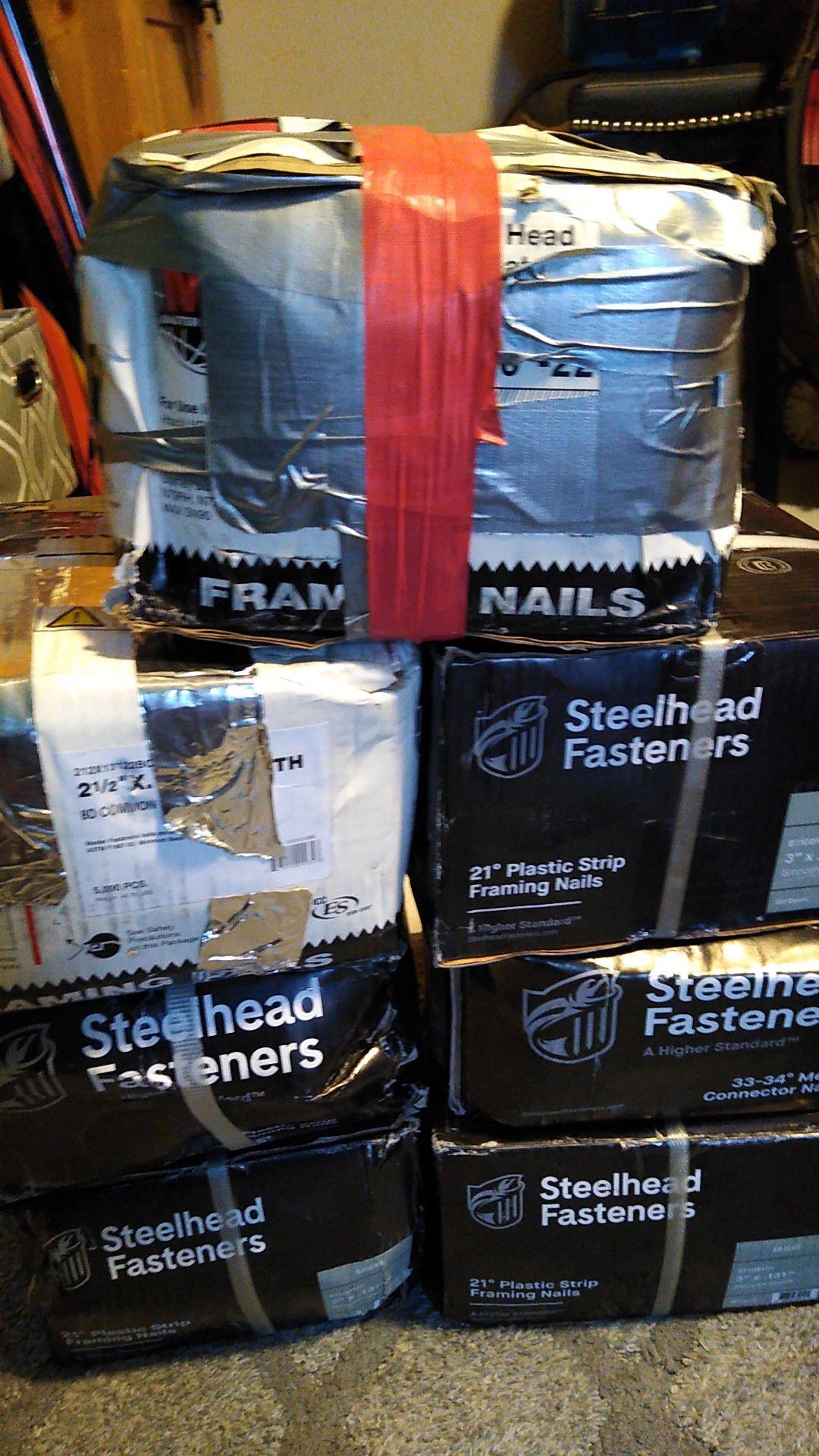 Steelhead fasteners framing nails