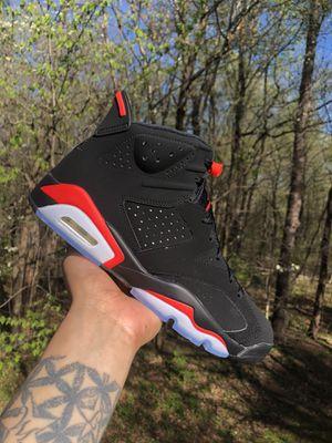 super popular 8391a 5bf64 Jordan 6 Retro Black Infrared (2019) Sz 8.5 $250 @Jaymackickz10 for Sale in  Fairfax, VA - OfferUp