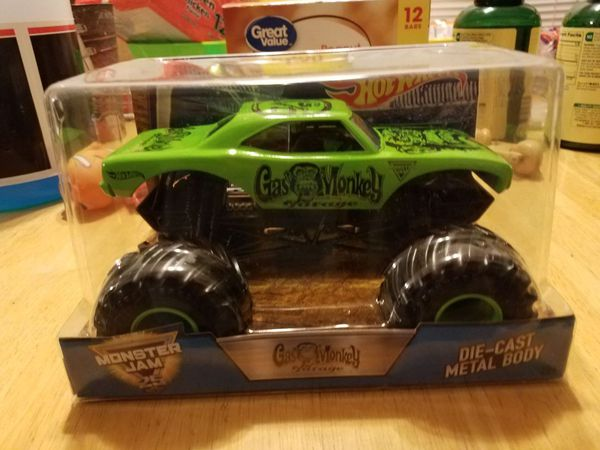 Hot Wheels Gas Monkey Garage monster truck for Sale in Tempe, AZ - OfferUp