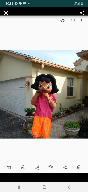 Adult Dora custom