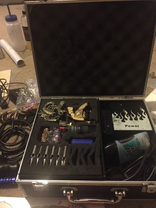 WHOLE LOT OF TATTOO SUPPLIES! for Sale in Killeen, TX - OfferUp