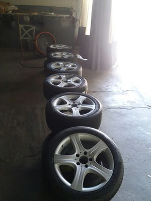 """2010-2016 E CLASS MERCEDES 17"""" WHEELS N TIREZ. for Sale in New York, NY"""