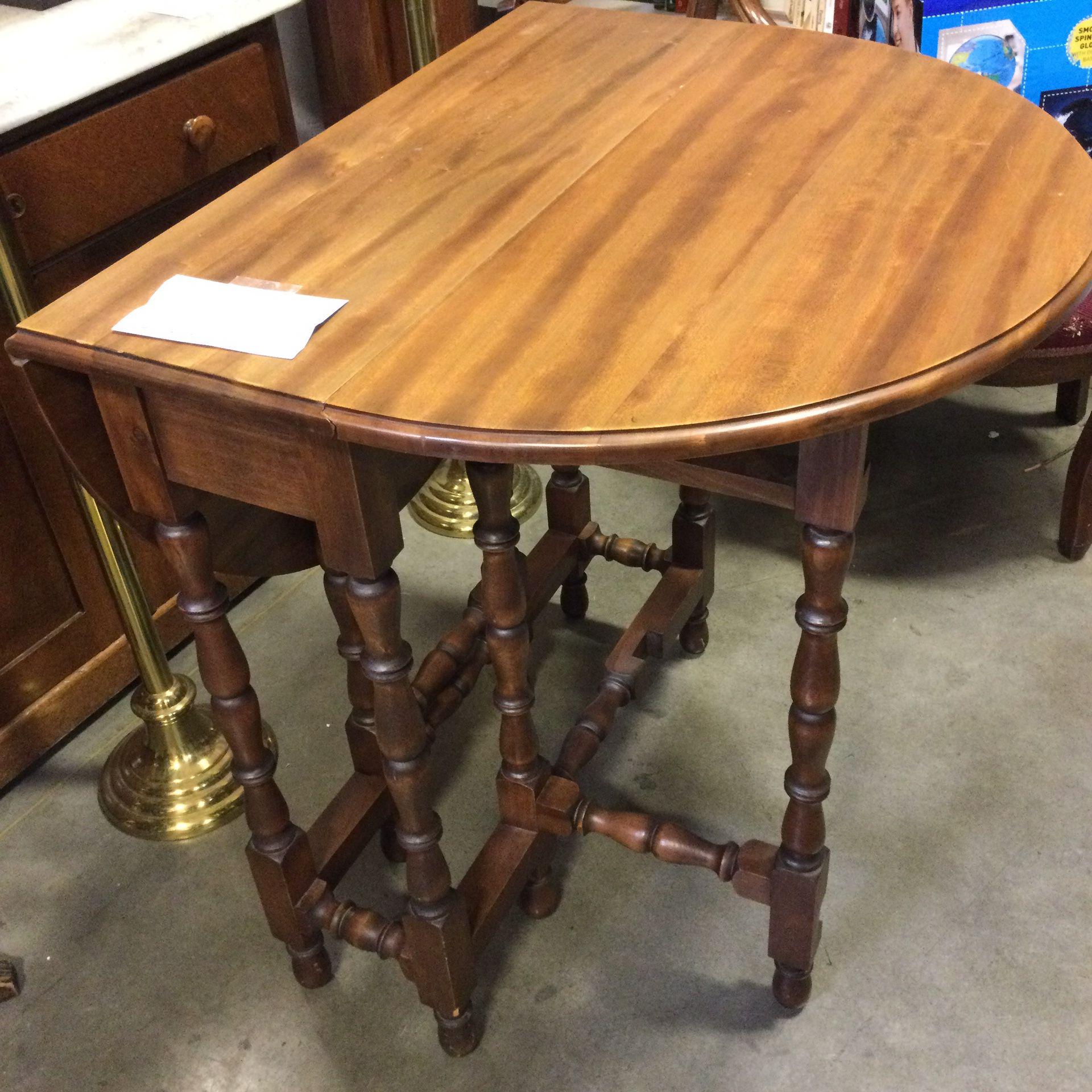 Vintage Dropleaf Table - Versatile!