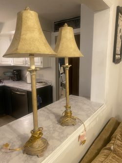2 Traditional/ Beach Style Matching Lamps  Thumbnail
