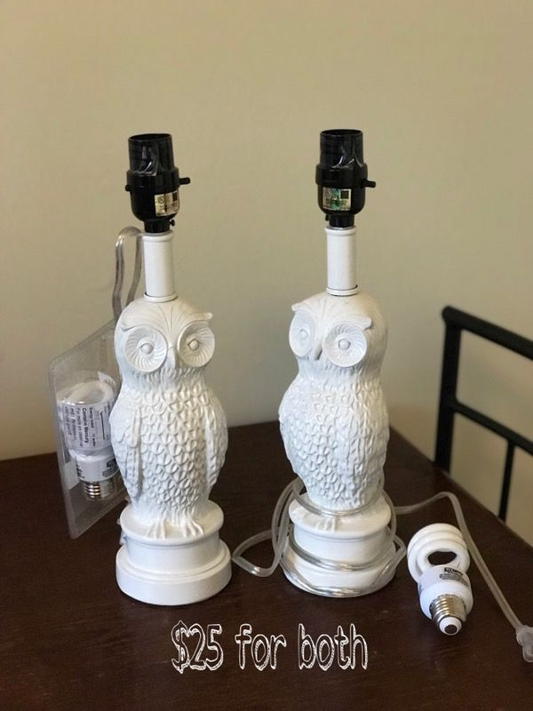 Owl Lamps
