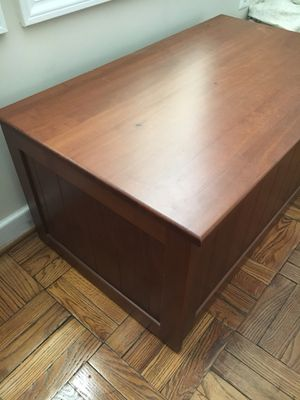 Wood chest coffee table for Sale in Arlington, VA