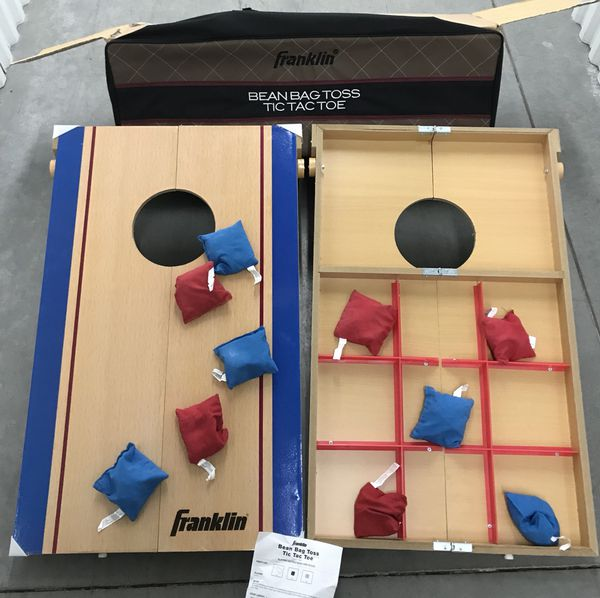 Surprising Franklin Bean Bag Toss Tic Tac Toe 2 In 1 Combo Game Machost Co Dining Chair Design Ideas Machostcouk