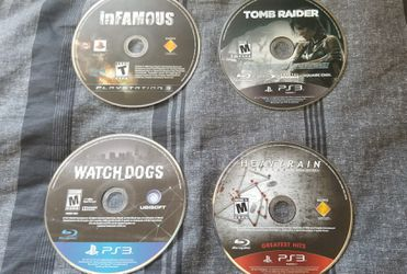 PS3 slim w/2 controllers/accessories/9 games Thumbnail