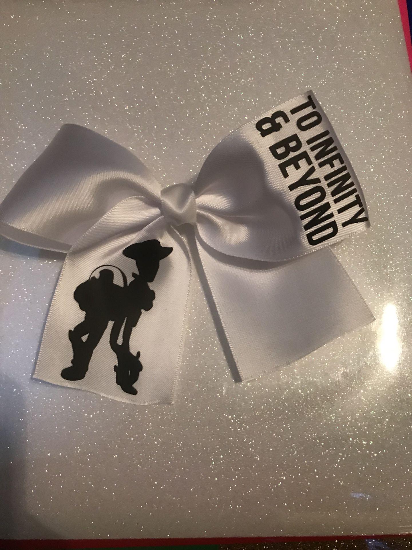 Custom vinyl bows