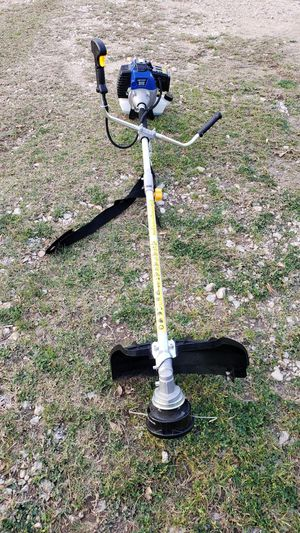 Photo Weed Eater w/brush blade used once