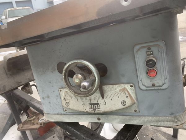 Delta Rockwell table saw 34-425 for Sale in Lomita, CA - OfferUp
