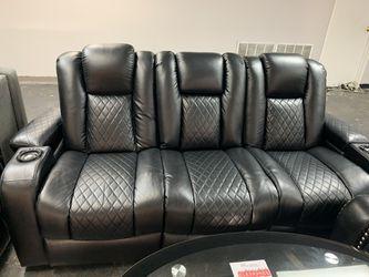 Delangelo power sofa & loveseat Thumbnail