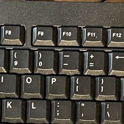 Computer Keyboard And Mouse - USB Thumbnail