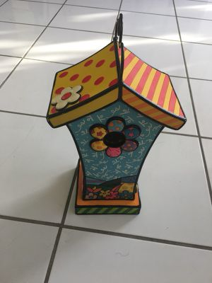 Britto birdhouse for Sale in Miami, FL