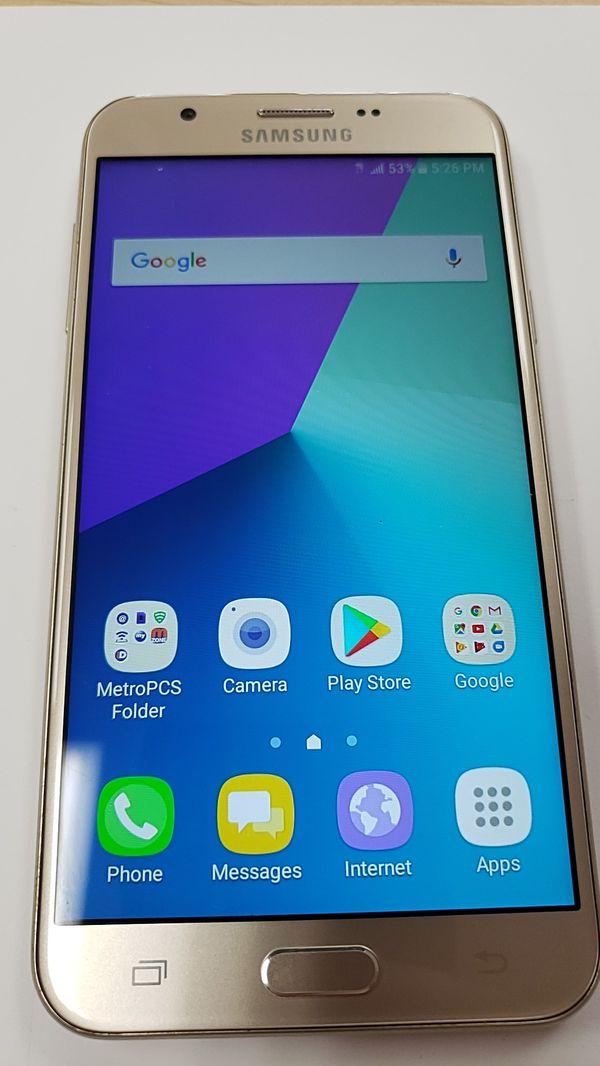 Samsung Galaxy J7 Prime Unlocked Metro pcs 4g LTE phone for Sale in  Sacramento, CA - OfferUp