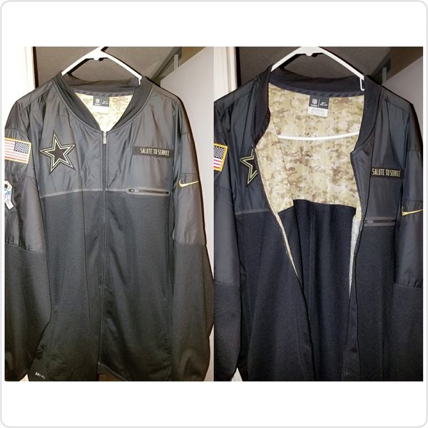 brand new 288f3 e3e95 Dallas Cowboys SALUTE TO SERVICE jacket for Sale in Las Vegas, NV - OfferUp