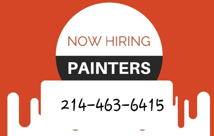 **EXPERIENCED PAINTERS NEEDED**