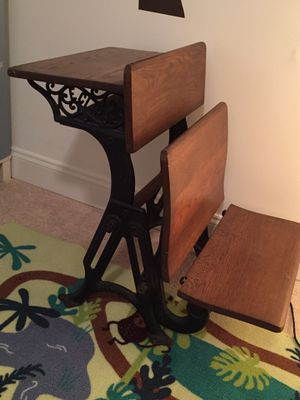 Antique child school desk for Sale in Washington, DC