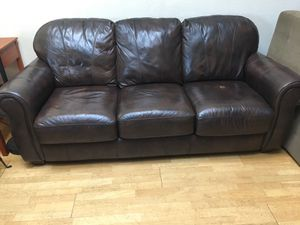 New and Used Leather couch for Sale in San Diego, CA - OfferUp