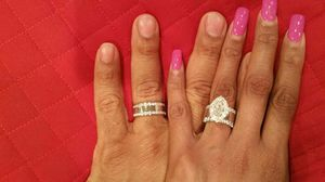 Complete wedding ring set for Sale in Alexandria, VA