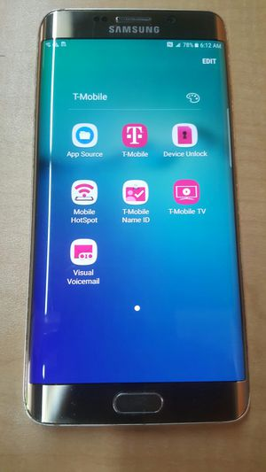 T-Mobile / MetroPCS Samsung S6 Edge plus 32 gig gold excellent for Sale in  San Jose, CA - OfferUp