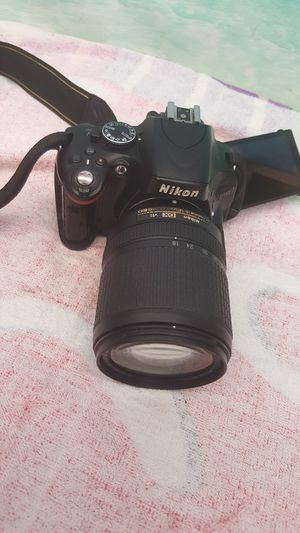 Nikon D5100 DSLR camera with 3 lenses. In good condition. for Sale in Hollywood, FL
