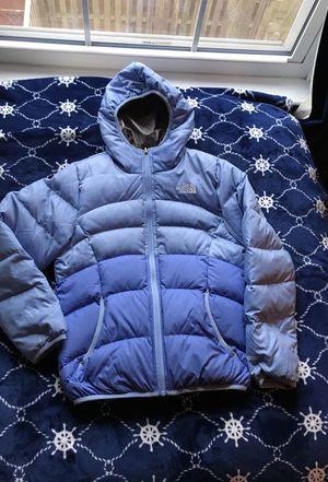 NorthFace girls size 11/12 reversible down winter coat for Sale in Falls Church, VA
