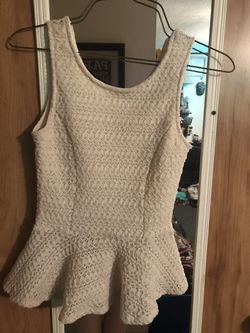 Sleeveless blouse Thumbnail