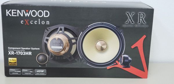 KENWOOD HI-RES 6 75in components for Sale in Taylors, SC - OfferUp