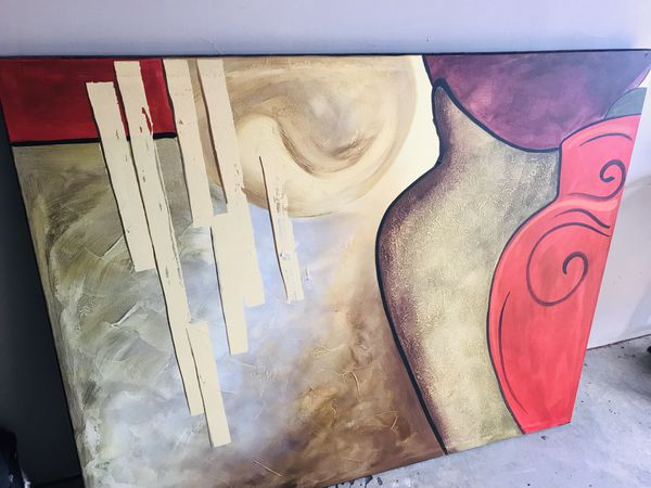 Rooms To Go Oil On Canvas Wall Art Obo
