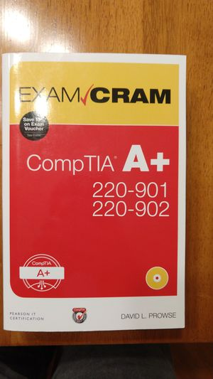 Exam CramComp TIA A+ with disk for Sale in Midlothian, VA