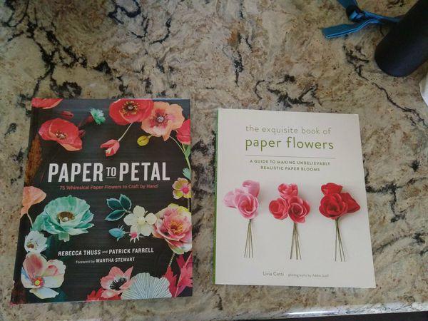 Paper flower making books books magazines in chandler az offerup mightylinksfo
