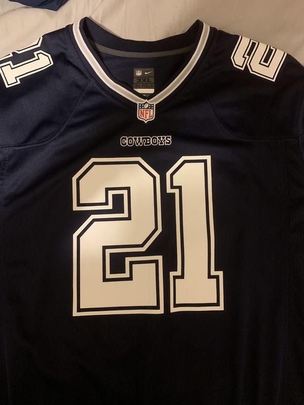 new style 7e4be dbd72 Ezekiel Elliott Men's NFL Jersey 3XL for Sale in Bloomington, IL - OfferUp