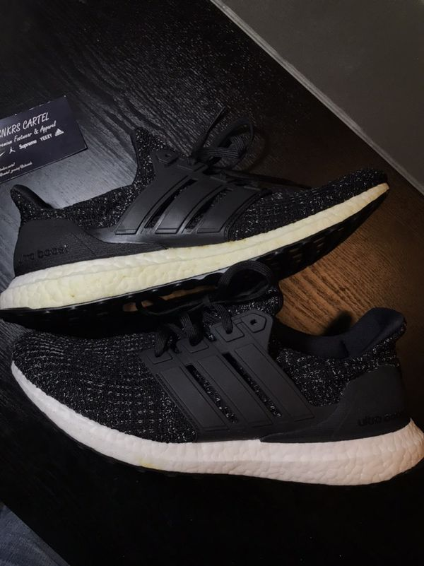 46feb6802aef8 Adidas Ultra Boost 4.0 Black White Speckle Size 10 US Mens for Sale ...