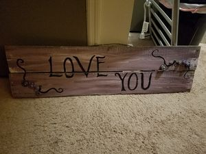 "Home Decor sign ""Love you"" for Sale in Altamonte Springs, FL"