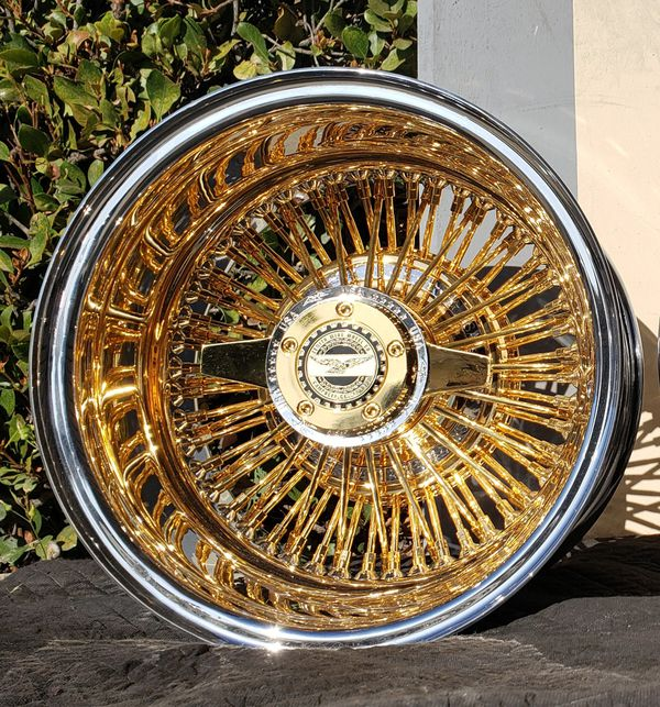13x7 Zenith Wire Wheels For Sale In Upland, CA