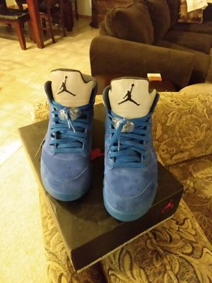 Photo Jordan retro 5 Blue Suede size 10