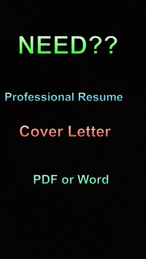 Resume or cover letter for Sale in Mesa, AZ