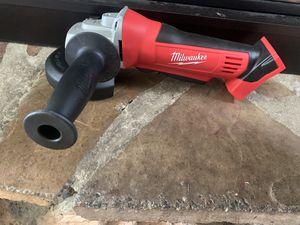 Photo Brand New!! Never used Milwaukee M18 Grinder/cutoff tool. With or without battery