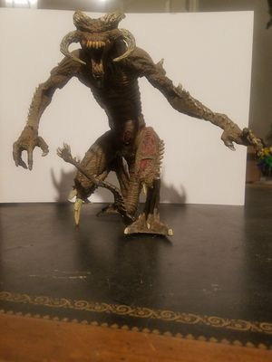 """10"""" Spawn MALEBOLGIA II 2000 series 17 complete todd mcfarlane toys action figures for Sale in Leander, TX"""