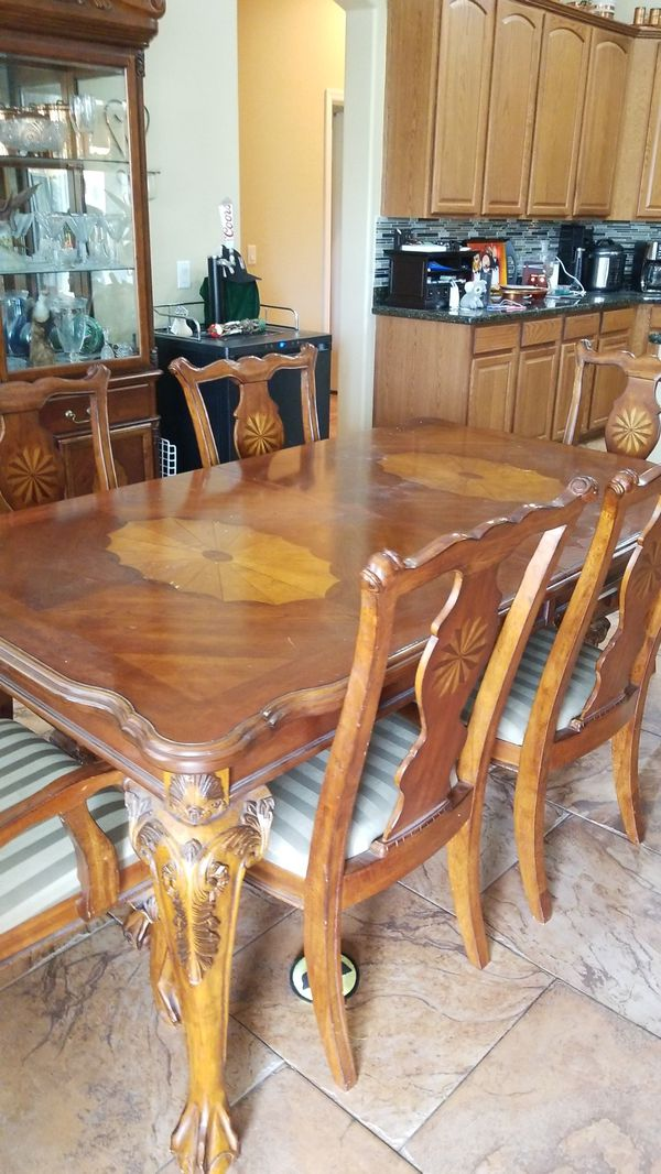 Antique dining table and 6 chairs Antiques in Surprise AZ OfferUp