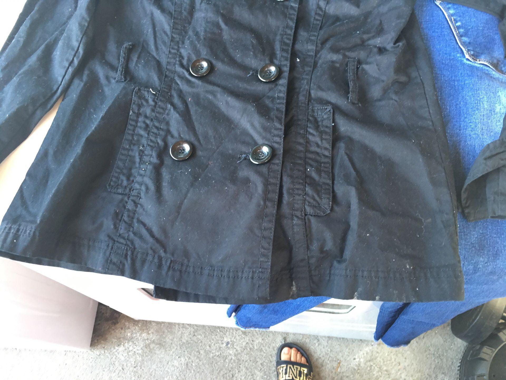 Jacket black midium