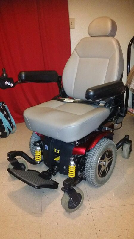 Power Scooter Wheelchair Jazzy 614 HD