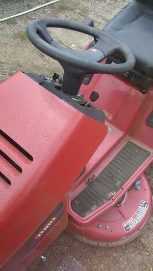 Photo Wheel horse riding mower