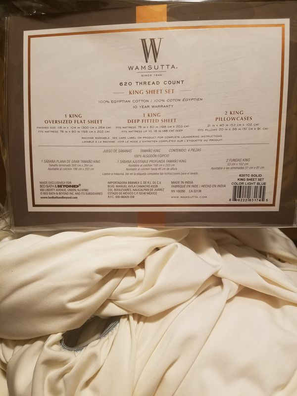 Oversized King 620 Thread Count 100 Egyptian Cotton Sheets We Bought Wrong Size It S Your Gain Furniture In Richland Wa Offerup