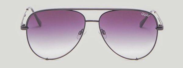 ce14e4014a565 Quay australia black x desi high key aviator sunglasses for Sale in ...